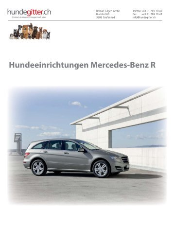 Mercedes_R_Hundeeinrichtungen