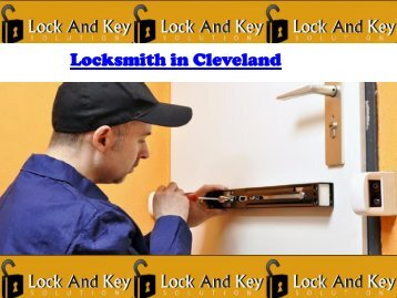 Locksmith in Cleveland