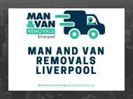 Man and Van Removals Liverpool