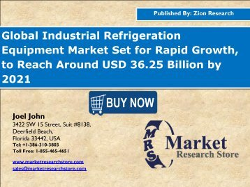 Industrial Refrigeration Equipment Market
