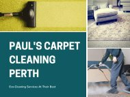 PAUL'S CARPET CLEANING PERTH