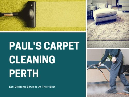 PAUL'S CARPET CLEANING PERTH