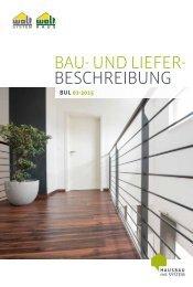 Bau- und Lieferbeschreibung 2016