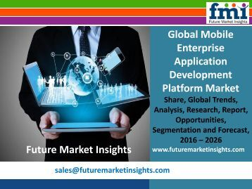 Global Mobile Enterprise Application Development Platform Market
