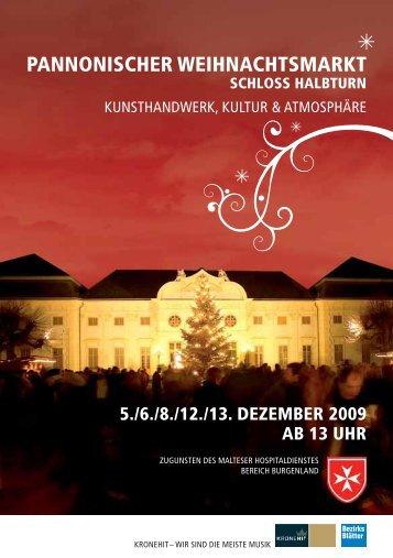 pannonischer weihnachtsmarkt schloss halbturn - Neusiedler See