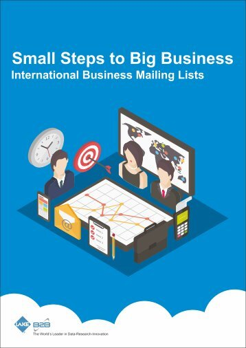 Small Steps to Big Business