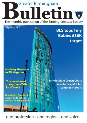 The Bulletin April 2016