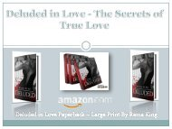 Deluded in Love - The Secrets of True Love