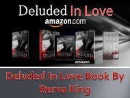 Deluded In Love Book By Rema King