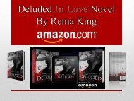 Deluded In Love Novel by Rema King