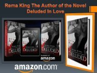 Rema King The Author of the Novel Deluded In Love