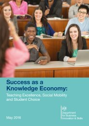 Success as a Knowledge Economy