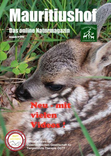 Mauritiushof Natur Magazin Mai 2016