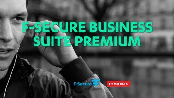 F-SECURE BUSINESS SUITE PREMIUM