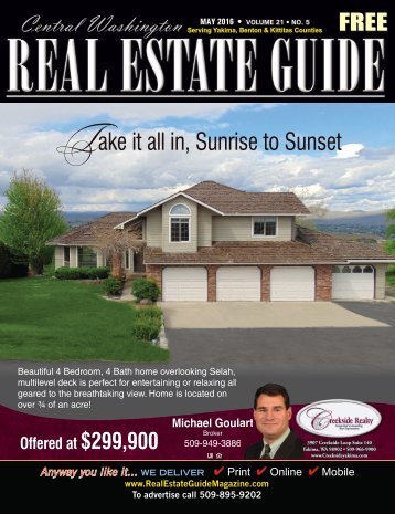 Central Washington Real Estate Guide  May16