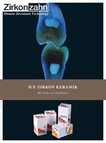 ICE Zirkon Keramik - Sortiment