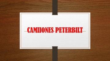 CAMIIONES PETERBILT