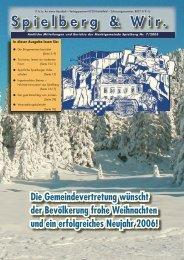 Ausgabe 5 - Gemeinde Spielberg