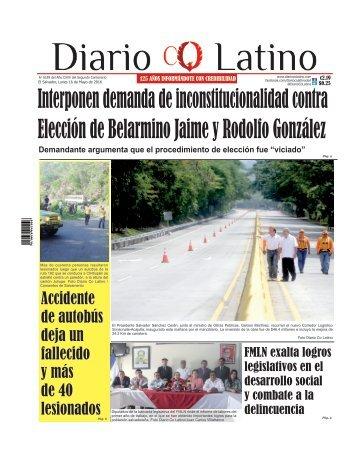 Edición 16 de Mayo de 2016
