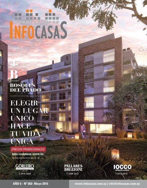 Revista Infocasas Número 60 Mayo 2016