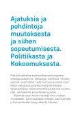Havaintoja Suomesta muutoksesta ja politiikasta - Page 3