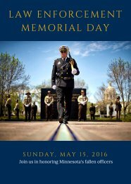 LAW ENFORCEMENT MEMORIAL DAY