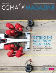 GETTING THE MOST FROM YOUR TEAM