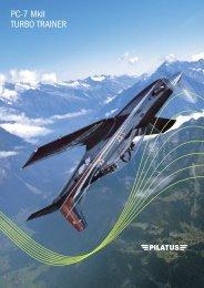 PC-7 MkII TURBO TRAINER - Pilatus Aircraft