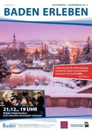 21.12., 19 UHR - Baden