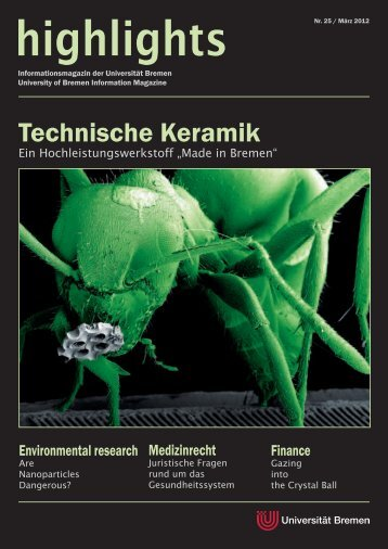 Technische Keramik - Advanced Ceramics Group - Universität Bremen