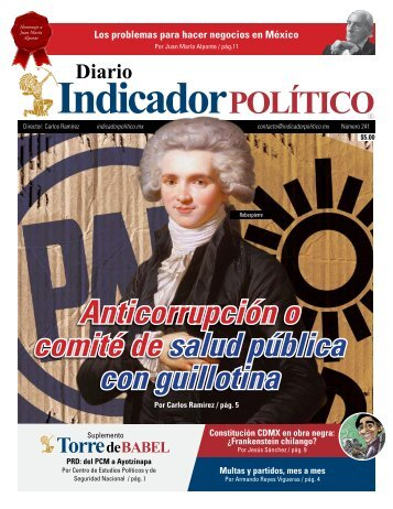 Anticorrupción o comité de salud pública con guillotina