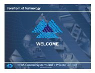 CaseStudy - KEAS Control Systems India Private Limited
