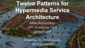 Twelve Patterns for Hypermedia Service Architecture
