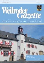 Weilroder Gazette Mai/Juni 2016