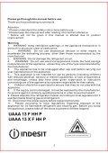 KitchenAid UAAA 13 X F HH P - Freezer - UAAA 13 X F HH P - Freezer PT (F084992) Istruzioni per l'Uso - Page 4