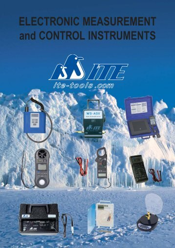 electronic measurement and control instruments 1. - ITE-Tools.com
