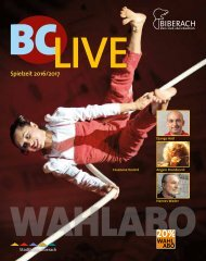BCLive Spielzeit 2016/2017