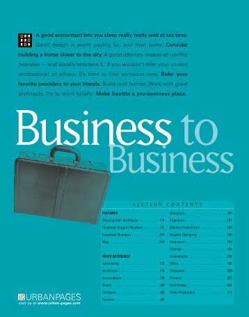 Business To Business - Home Page