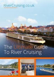 To River Cruising