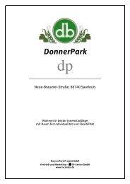DonnerPark - IV-Center GmbH