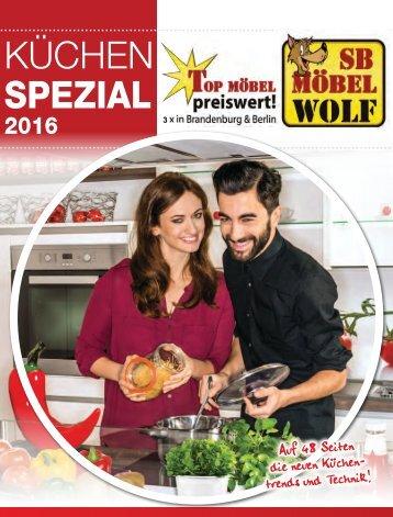 Jahres Katalog Küchen Spezial 2016