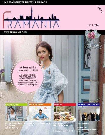 Framania Magazin Ausgabe Mai  2016