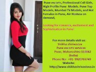 Hot Dating Agency- Shikha Shirivastav Pune Escorts Services