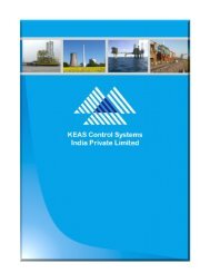 Profile - KEAS Control Systems India Private Limited
