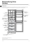 KitchenAid NBAA 33 NF NX - Refrigerator - NBAA 33 NF NX - Refrigerator DE (F053884) Istruzioni per l'Uso - Page 4
