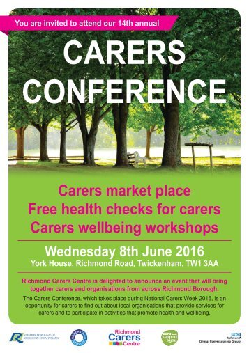 CARERS CONFERENCE