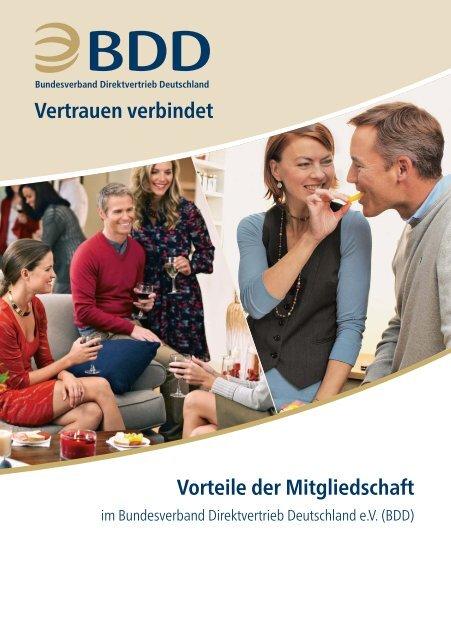 Vorteile der Mitgliedschaft im Bundesverband Direktvertrieb Deutschland e.V.