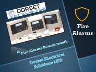 Fire Alarms Bournemouth - Dorset Electrical Solutions