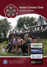 Isham CC 2016 Handbook - FINAL DRAFT