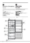 KitchenAid E2BL 19213 F O3 (TK) - Fridge/freezer combination - E2BL 19213 F O3 (TK) - Fridge/freezer combination TR (F085165) Istruzioni per l'Uso - Page 4